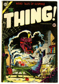 Golden Age (1938-1955):Horror, The Thing! #17 (Charlton, 1954) Condition: FN....