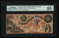 Canadian Currency: , Toronto, ON- Colonial Bank of Canada $5 May 4, 1859 Ch. #130-10-04-10. ...