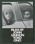 "Movie Posters:Documentary, Films by John Lennon and Yoko Ono (John Lennon and Yoko Ono, 1972). Herald (4.75"" X 6""). Documentary.. ..."
