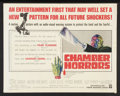 """Movie Posters:Horror, Chamber of Horrors (Warner Brothers, 1966). Half Sheet (22"""" X 28""""). Horror.. ..."""