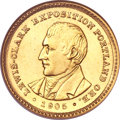 Commemorative Gold, 1905 G$1 Lewis and Clark MS64 NGC....