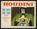 """Movie Posters:Drama, Houdini (Paramount, 1953). Lobby Card Set of 8 (11"""" X 14"""") andStill (8"""" X 10""""). Drama.. ... (Total: 9 Items)"""