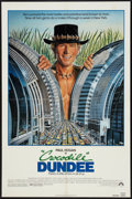 "Movie Posters:Adventure, Crocodile Dundee (Paramount, 1986). One Sheet (27"" X 41"").Adventure.. ..."