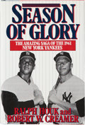 """Autographs:Others, New York Yankees """"Season of Glory"""" Multi-Signed Book..."""