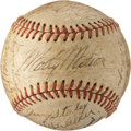 Autographs:Baseballs, 1950 St. Louis Cardinals Team Signed Baseball....