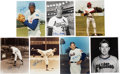 Autographs:Photos, Hall of Famers Single-Signed Photographs Lot of 7.... (Total: 7items)
