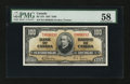 Canadian Currency: , BC-27b $100 1937. ...