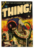 Golden Age (1938-1955):Horror, The Thing! #15 (Charlton, 1954) Condition: VG/FN....