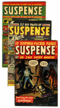 Golden Age (1938-1955):Horror, Suspense #5, 11, and 19 Group (Atlas, 1950-52).... (Total: 3 ComicBooks)