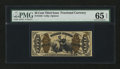 Fractional Currency:Third Issue, Fr. 1343 50¢ Third Issue Justice PMG Gem Uncirculated 65 EPQ....