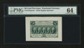 Fractional Currency:First Issue, Fr. 1313SP 50¢ First Issue Wide Margin Face PMG Choice Uncirculated64....
