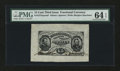 Fractional Currency:Third Issue, Fr. 1275SP 15¢ Third Issue Wide Margin Face PMG Choice Uncirculated 64 EPQ....