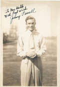 Golf Collectibles:Autographs, Late 1920's Johnny Farrell Signed Photograph....
