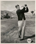 Golf Collectibles:Autographs, 1940's Ed Dudley Signed Photograph....
