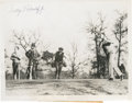 Golf Collectibles:Autographs, 1934 George Dunlap Signed Photograph....