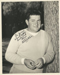 "Golf Collectibles:Autographs, Circa 1950 Ed ""Porky"" Oliver Signed Photograph...."