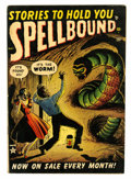 Golden Age (1938-1955):Horror, Spellbound #3 (Atlas, 1952) Condition: VG/FN....