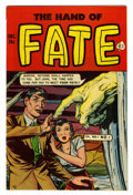 Golden Age (1938-1955):Horror, The Hand of Fate #8 (Ace, 1951) Condition: FN....