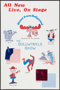 "Movie Posters:Animated, The Bullwinkle Show (NBC, 1972). One Sheet (25"" X 37""). Animated.. ..."