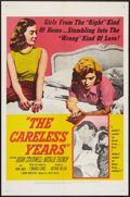 "Movie Posters:Bad Girl, The Careless Years (United Artists, 1957). One Sheet (27"" X 41"").Bad Girl.. ..."