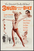 """Movie Posters:Sexploitation, 3 Nuts in Search of a Bolt (Harlequin International, 1964). OneSheet (27"""" X 41""""). Sexploitation.. ..."""