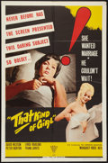 "Movie Posters:Drama, That Kind of Girl (Topaz, 1963). One Sheet (27"" X 41""). Drama.. ..."