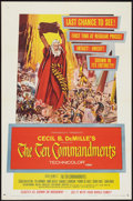 """Movie Posters:Historical Drama, The Ten Commandments (Paramount, R-1960). One Sheet (27"""" X 41"""").Historical Drama.. ..."""
