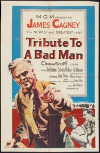 """Tribute to a Bad Man (MGM, 1956). One Sheet (27"""" X 41""""). Western"""