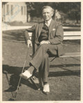 Golf Collectibles:Autographs, Circa 1921 Jock Hutchinson Signed Photograph....