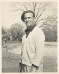 Golf Collectibles:Autographs, 1940's Toney Penna Signed Photograph....