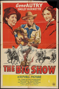 """Movie Posters:Western, The Big Show (Republic, R-1940s). One Sheet (27"""" X 41""""). Western.. ..."""