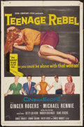 "Movie Posters:Drama, Teenage Rebel (20th Century Fox, 1956). One Sheet (27"" X 41"").Drama.. ..."