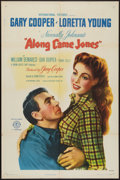 """Movie Posters:Western, Along Came Jones (RKO, 1945). One Sheet (27"""" X 41"""") Style A. Western.. ..."""