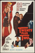 "Movie Posters:Mystery, Twenty Plus Two (Allied Artists, 1961). One Sheet (27"" X 41"").Mystery.. ..."