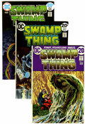 Bronze Age (1970-1979):Horror, Swamp Thing Group (DC, 1972-74).... (Total: 4 Comic Books)