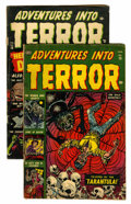 Golden Age (1938-1955):Horror, Adventures Into Terror #15 and 16 Group (Atlas, 1953).... (Total: 2Comic Books)