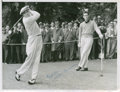 Golf Collectibles:Autographs, 1940's Willie Turnesa Signed Photograph....