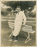 Golf Collectibles:Autographs, 1930's Frank Walsh Signed Photograph....