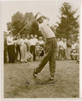 Golf Collectibles:Autographs, 1950's Cary Middlecoff Signed Photograph....