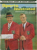 Golf Collectibles:Autographs, 1962 Sam Snead & Arnold Palmer Signed Sports IllustratedCover....