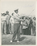 Golf Collectibles:Autographs, 1950's Ed Furgol Signed Photograph....