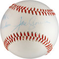 Autographs:Baseballs, Joe Cronin Signed Baseball....