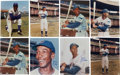 Autographs:Photos, Ernie Banks Signed Photographs Lot of 8.... (Total: 8 items)