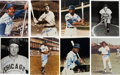 Autographs:Photos, Chicago Cubs Hall of Famers Signed Photograph Collection of 12....(Total: 12 items)