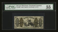 Fractional Currency:Third Issue, Fr. 1366 50¢ Third Issue Justice PMG About Uncirculated 55....