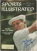 Golf Collectibles:Autographs, 1980's Dick Mayer Signed 1958 Sports Illustrated Cover....