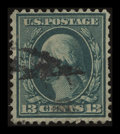 Stamps, 13c Blue Green on Bluish Paper (365),...
