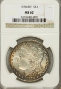 Morgan Dollars: , 1878 8TF $1 MS62 NGC. NGC Census: (1017/4259). PCGS Population(1569/5893). Mintage: 699,300. Numismedia Wsl. Price for pro...