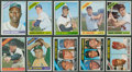 Baseball Cards:Sets, 1966 Topps Baseball Starter Set (336/598) with 39 high numbers....
