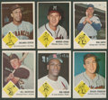 Baseball Cards:Sets, 1963 Fleer Baseball Partial Set (47/66). ...